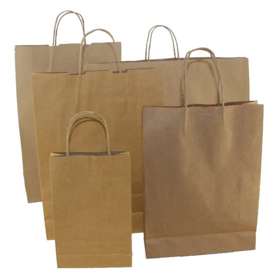 Brown Paper Carry Bags
