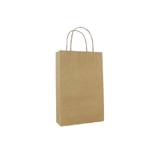 Brown Paper Carry Bags - Baby