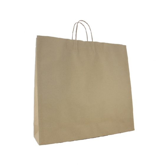 XL Brown Paper Carry Bags