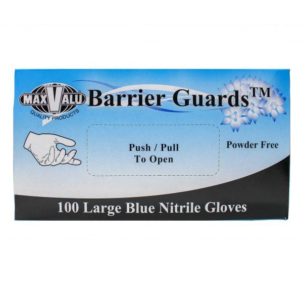 Large Blue Nitrile Gloves