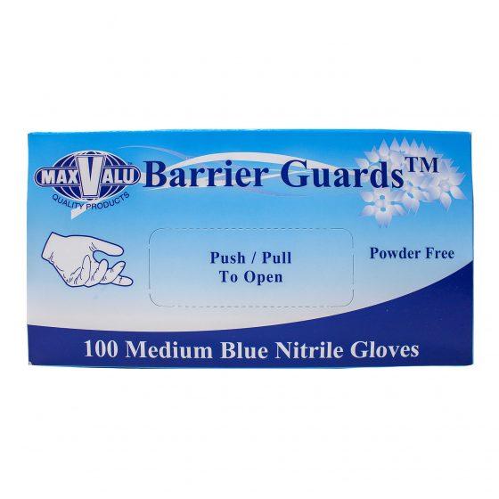 Medium Blue Nitrile Gloves