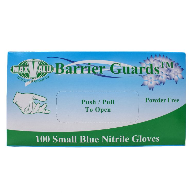 Small Blue Nitrile Gloves