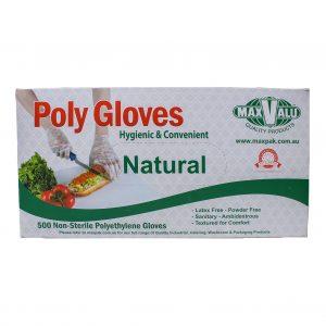 Natural Poly Gloves - Box