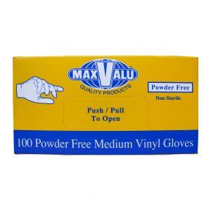 Medium Powder Free Vinyl Gloves