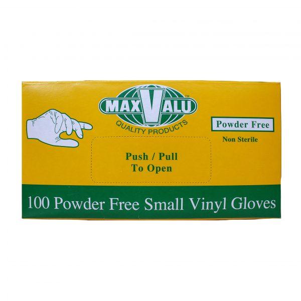 Small Powder Free Vinyl Gloves