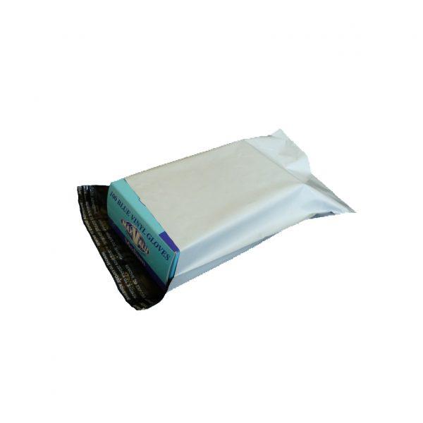 500g White Courier Satchel 22 x 35 cm