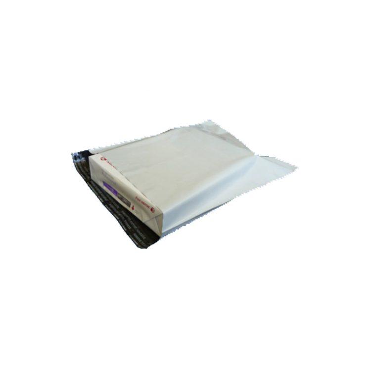 3kg White Courier Satchel 41 x 30 cm