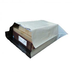 White Courier Satchel 65 x 60 cm