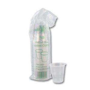 Clear 190ml Cups