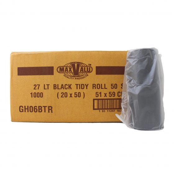 27L Black Tidy Bag