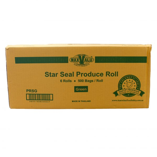 Green Star Seal Produce Roll