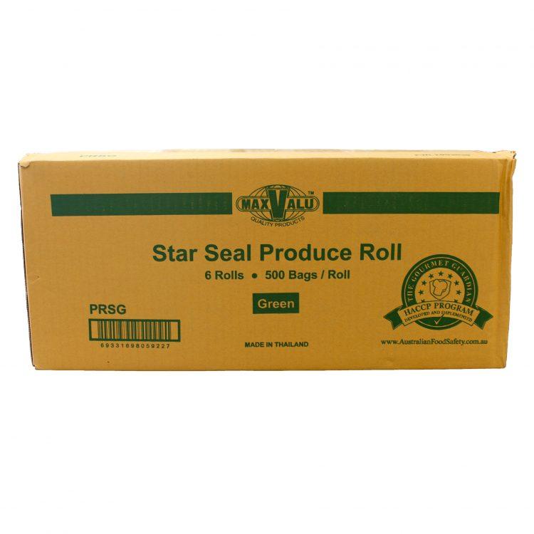 Green Star Seal Produce Roll