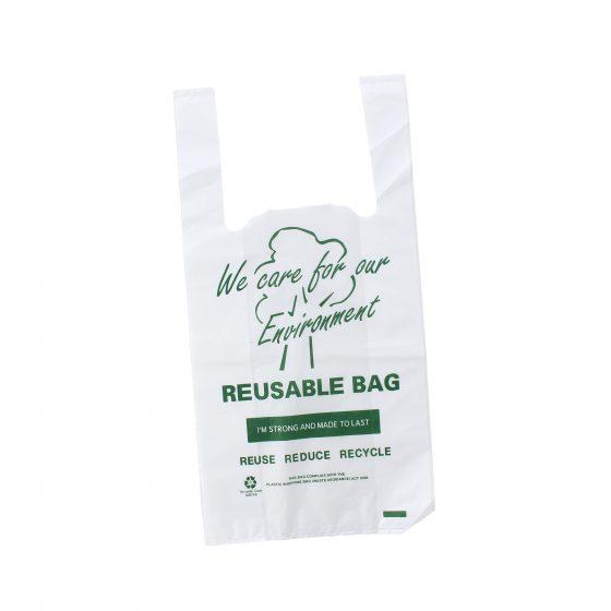 Small Printed Reusable Singlet Bag