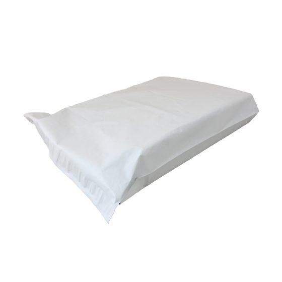 White Courier Satchel 44 x 35 cm